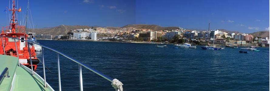 Bootsfahrt im Süden von Gran Canaria