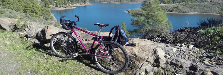 Mountainbike fahren Gran Canaria