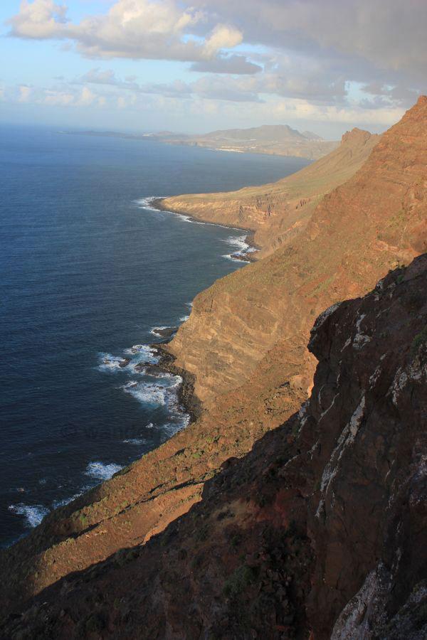 Steilküste im Westen von Gran Canaria
