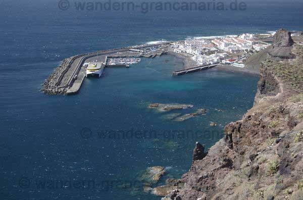 Agaete Hafen, Tauch und Schnorchelrevier