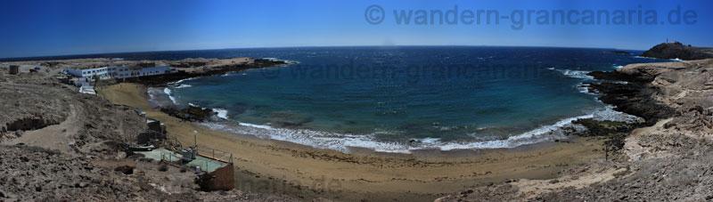 Bucht und Strand von Playa del Cabron, Gran Canaria
