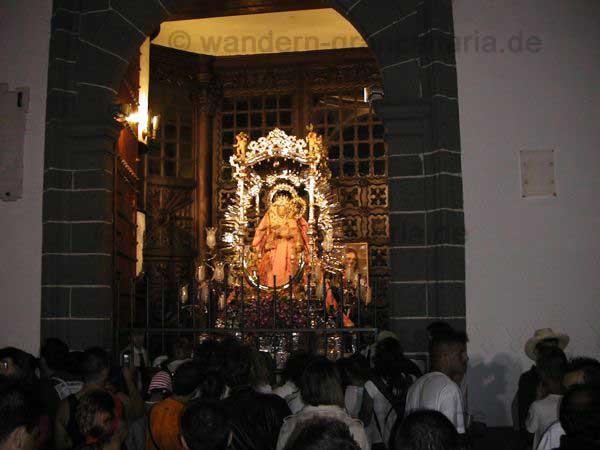 Virgen del Pino, Schutzpatronin von Gran Canaria, Teror