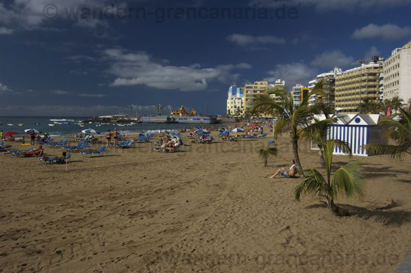 Las Canteras Strand Las Palmas