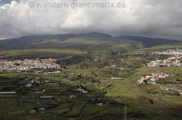 Aguimes, Barranco de Guayadeque und Ingenio