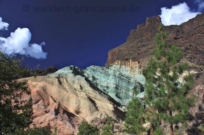 Los Azulejos, von Mogan nach Aldea