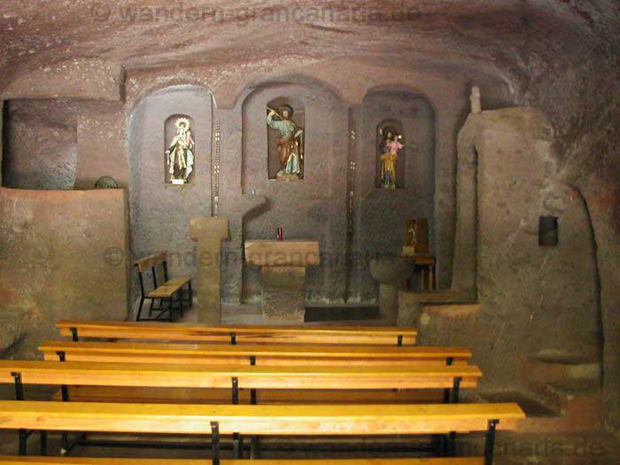 Höhlenkapelle im Barranco von Guayadeque