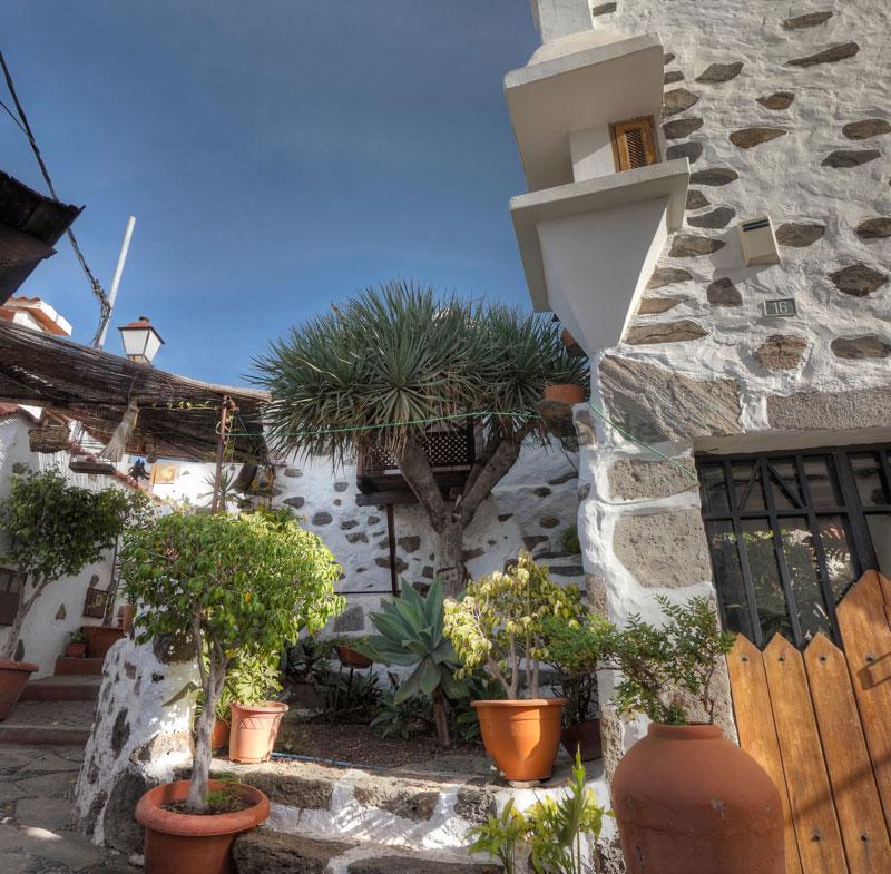 Malerisches Eck im alten Ortsteil von Ingenio, Gran Canaria