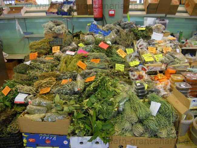 Küchenkräuter und Heilkräuter Bauernmarkt von San Mateo