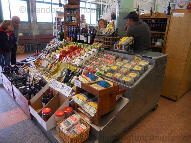 Bauernmarkt von San Mateo, Wein und Honig