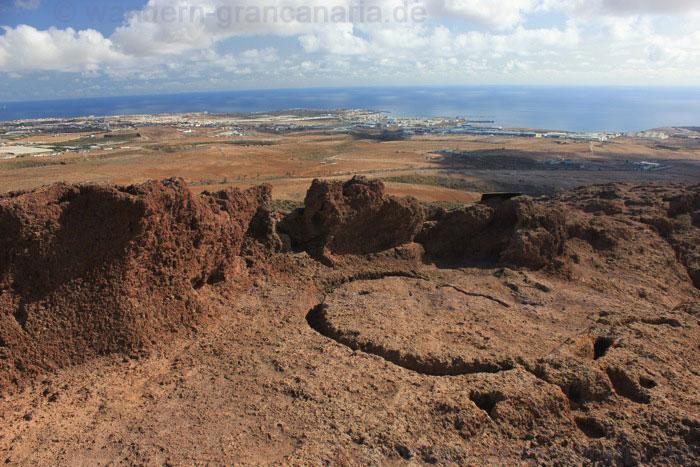 Opferplatz der Ureinwohner von Gran Canaria im Osten der Insel.