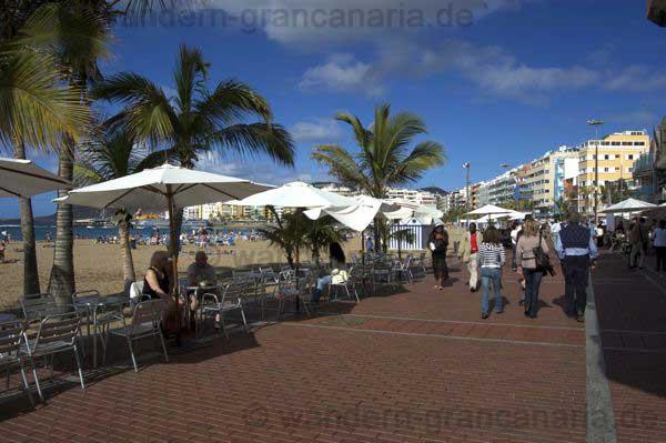 Strandpromenade vom Las Canteras Strand