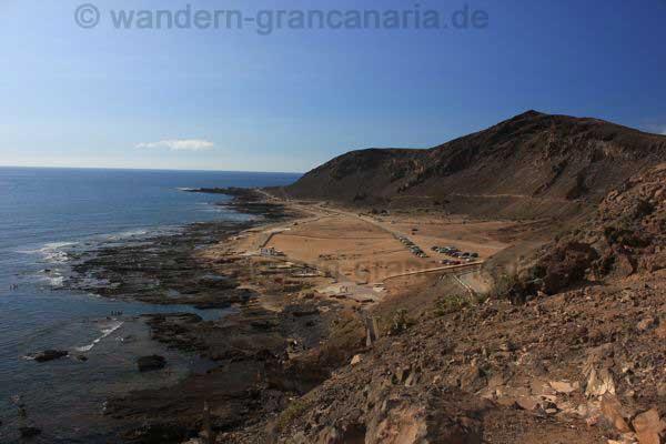 El Confital Strand bei Las Palmas