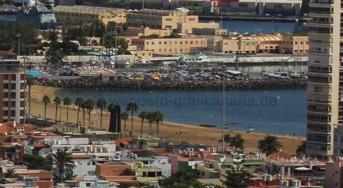 Alcaravaneras Strand in Las Palmas