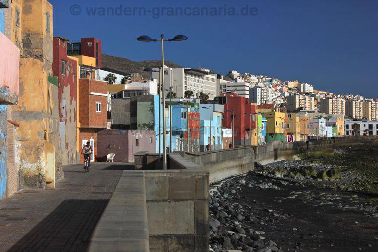 Strandpromenade, paseo de San Cristobal, Las Palmas