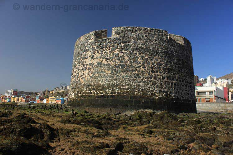 Die Burg Castillo de San Cristobal, Las Palmas