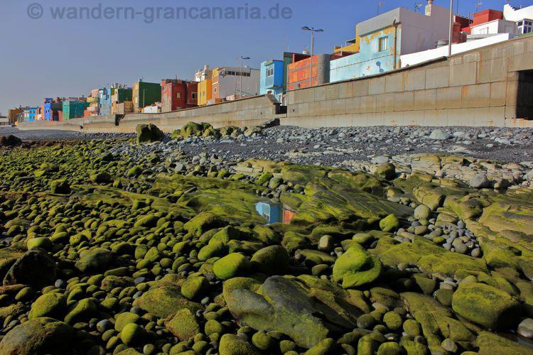 Strand und Promenade von San Cristobal.