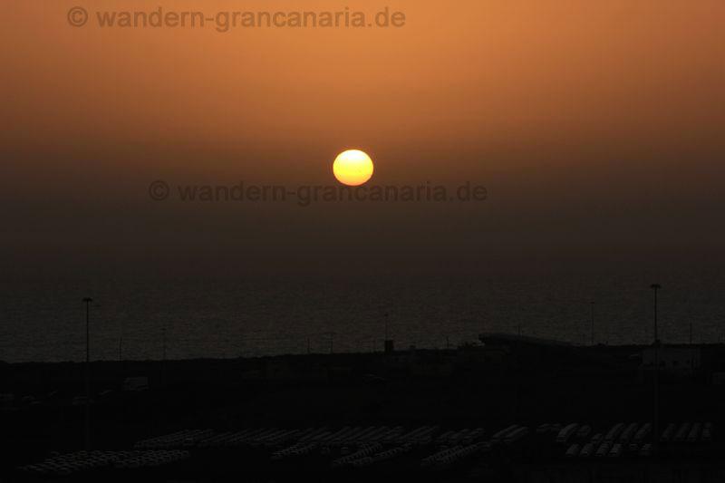 Sonnenaufgang bei Kalima auf Gran Canaria