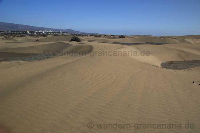 Schönes Wetter in den Dünen von Maspalomas