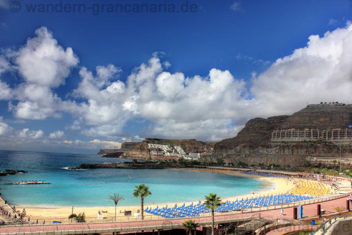 Strand von Amadores und Playa del Cura