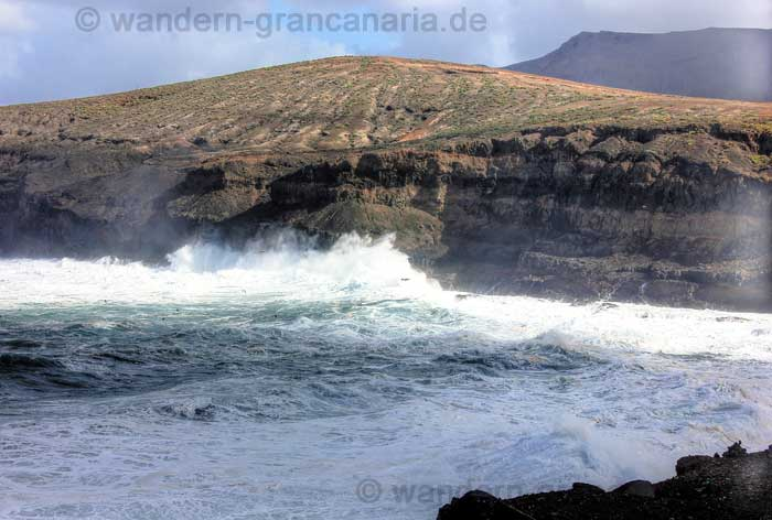 Steilküste nördlich von Agaete