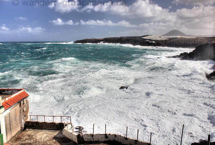 Nordküste von Gran Canaria bei Galdar