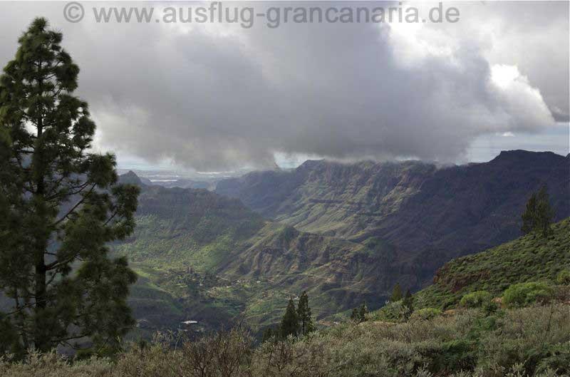 Tal von Tirajana und Fataga bei der geführten Wanderung.