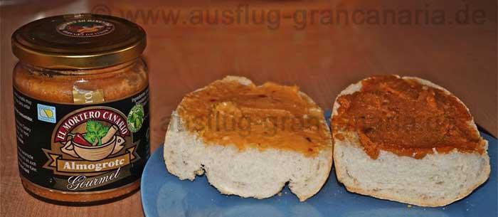 Amogrote Käsepaste von den Kanaren
