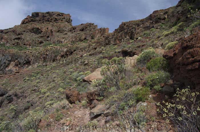 Schwierige Bergtour im Westen von Gran Canaria