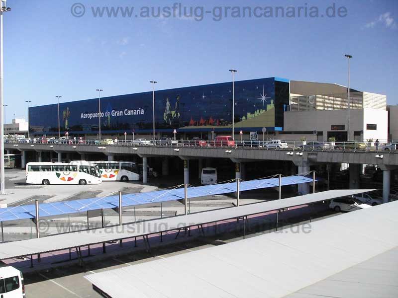 Internationales Terminal vom Flughafen von Gran Canaria