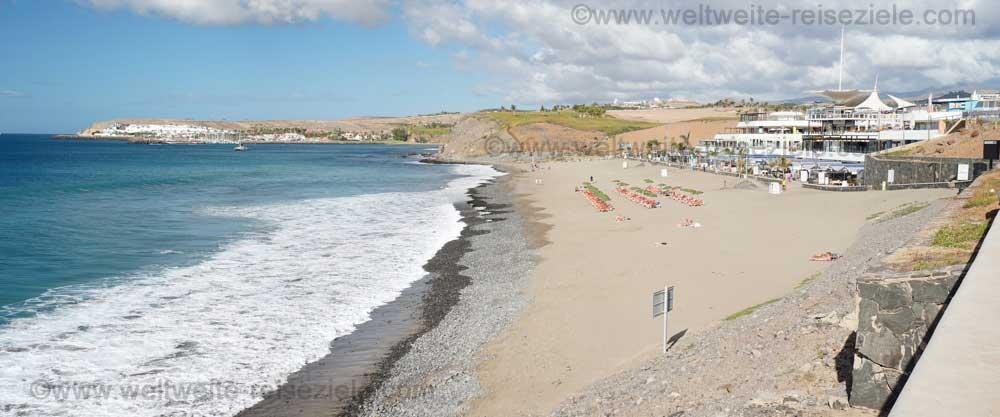Strand von Meloneras, im Süden von Gran Canaria