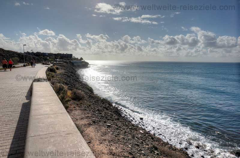 Strand Playa de Las Mujeres, zwischen Maspalomas und Meloneras, Gran Canaria