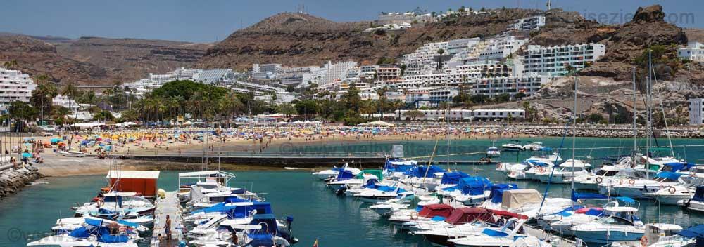 Playa de Puerto Rico und Jachthafen