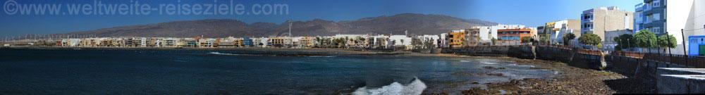 Panorama der Bucht von Playa de Arinaga