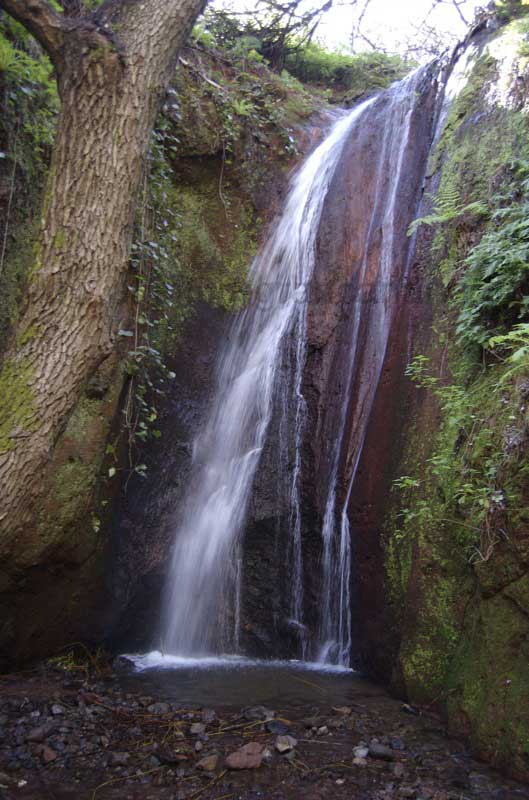 Grösserer Wasserfall, Gran Canaria Winter