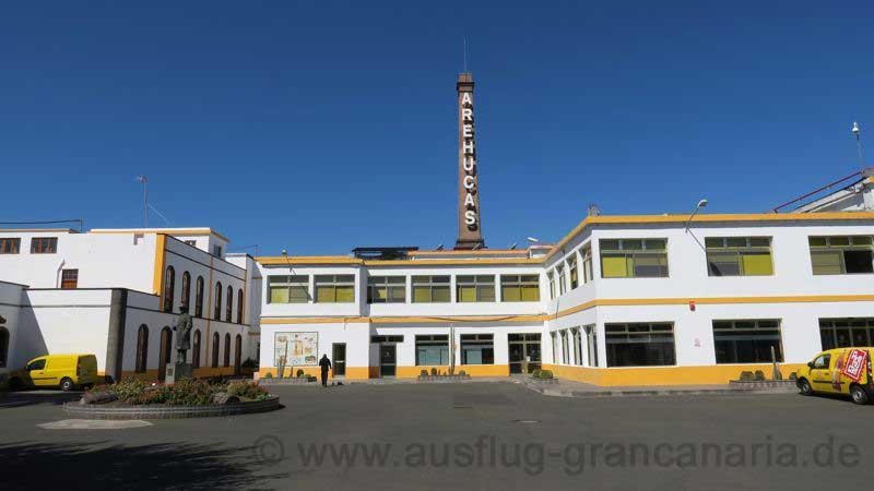 Rumfabrik Arehucas im Norden von Gran Canaria in der Stadt Arucas