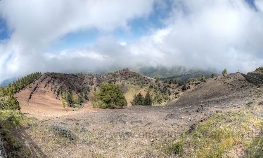Krater von Pinos de Galdar im Nordwesten von Gran Canaria